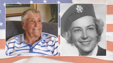 Seniors Helping Seniors Honors Client Who Served in WWII