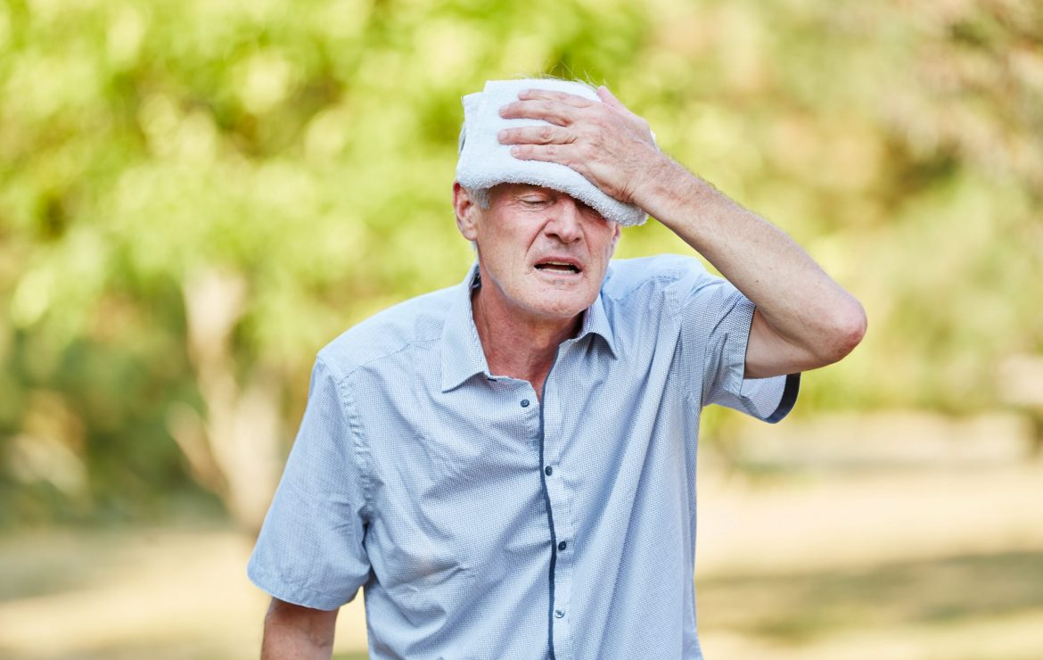 Risk of Dehydration for Seniors Increases During  Heat Wave